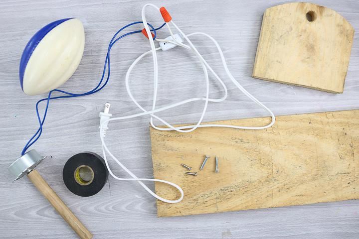 supplies to make a diy tumbler turner
