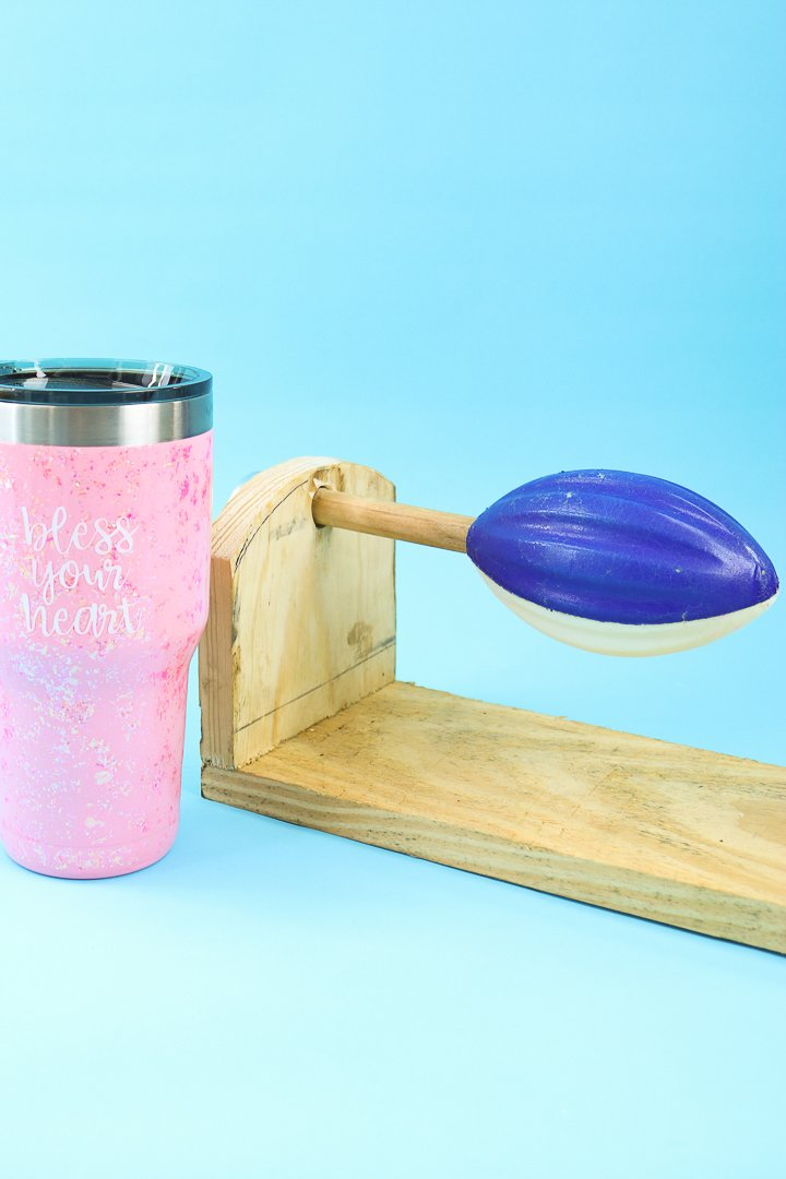 video on how to make a cup turner