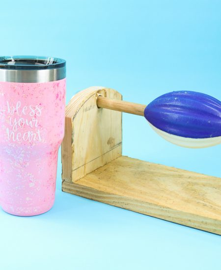 how to for a diy cup turner