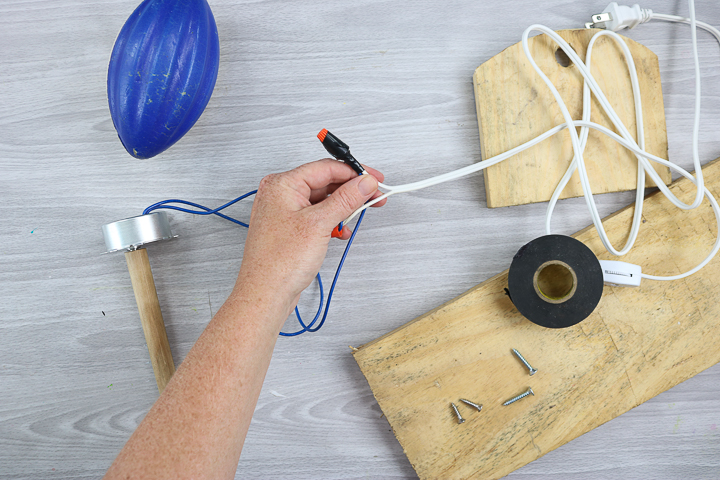 wiring a diy cup turner