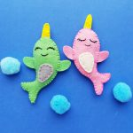 Free Narwhal SVG File Perfect for Kids Crafts