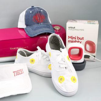 cricut easypress mini on hats