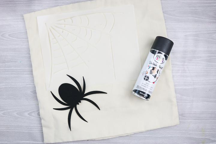supplies to make a halloween pillow
