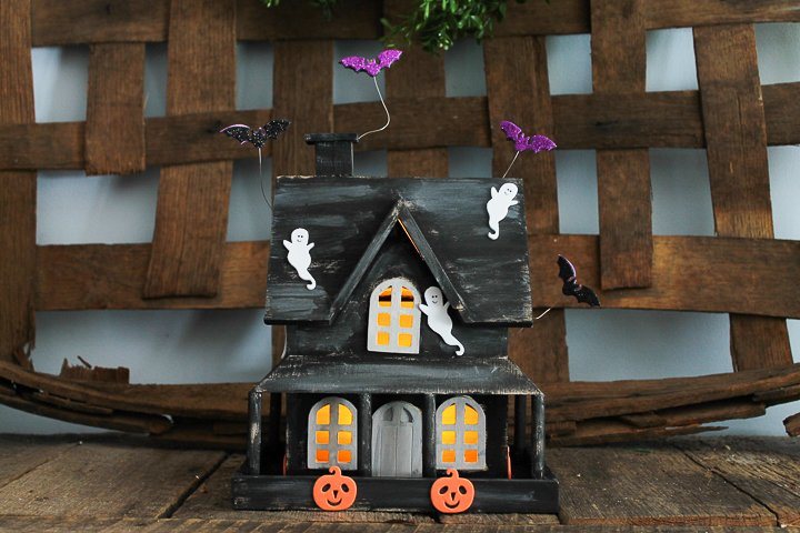 haunted house kids craft