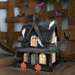 DIY Haunted House That Lights Up