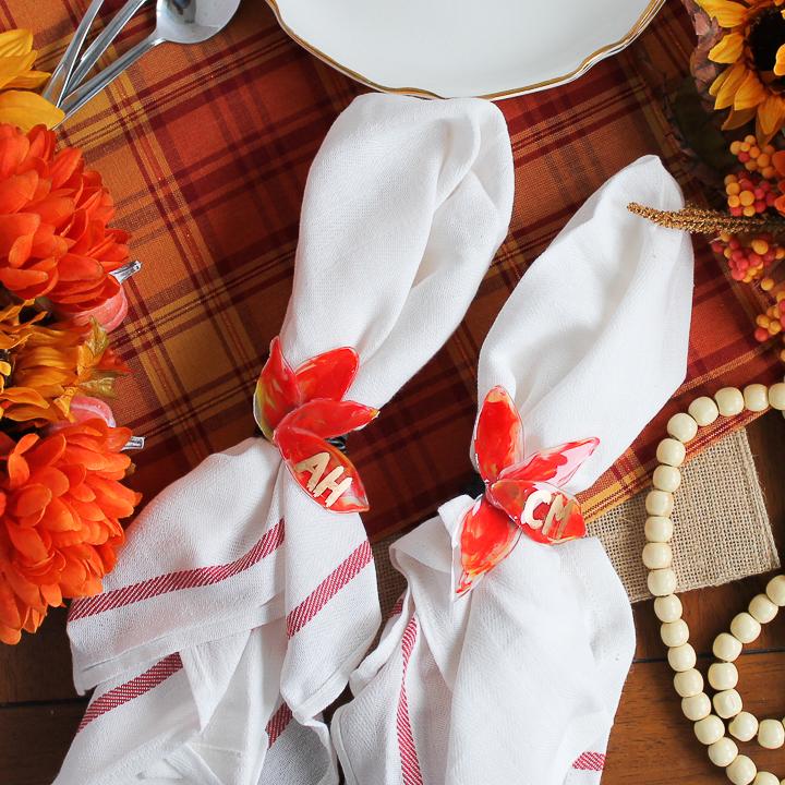 diy thanksgiving napkin rings