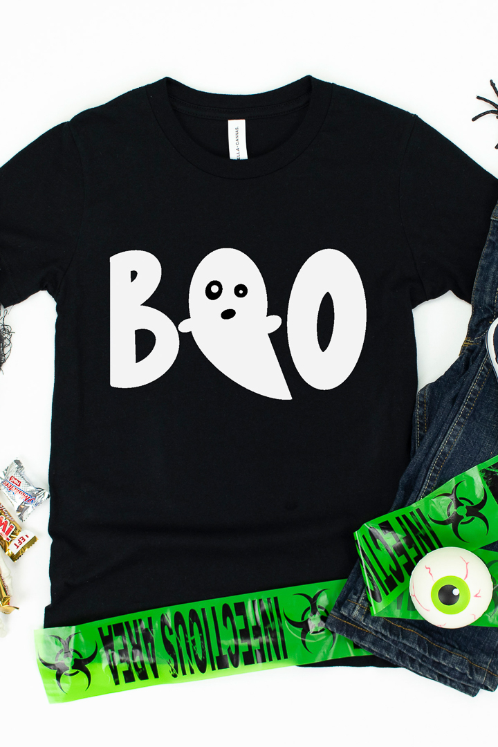 halloween shirt with free svg file