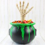 Halloween Candy Bucket That Glows in the Dark