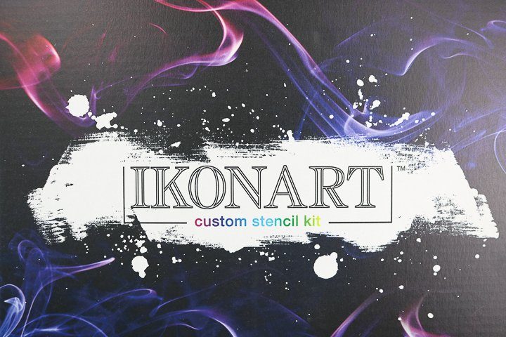 ikonart custom stencil kit