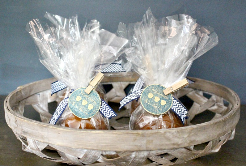 party craft caramel apple party favors