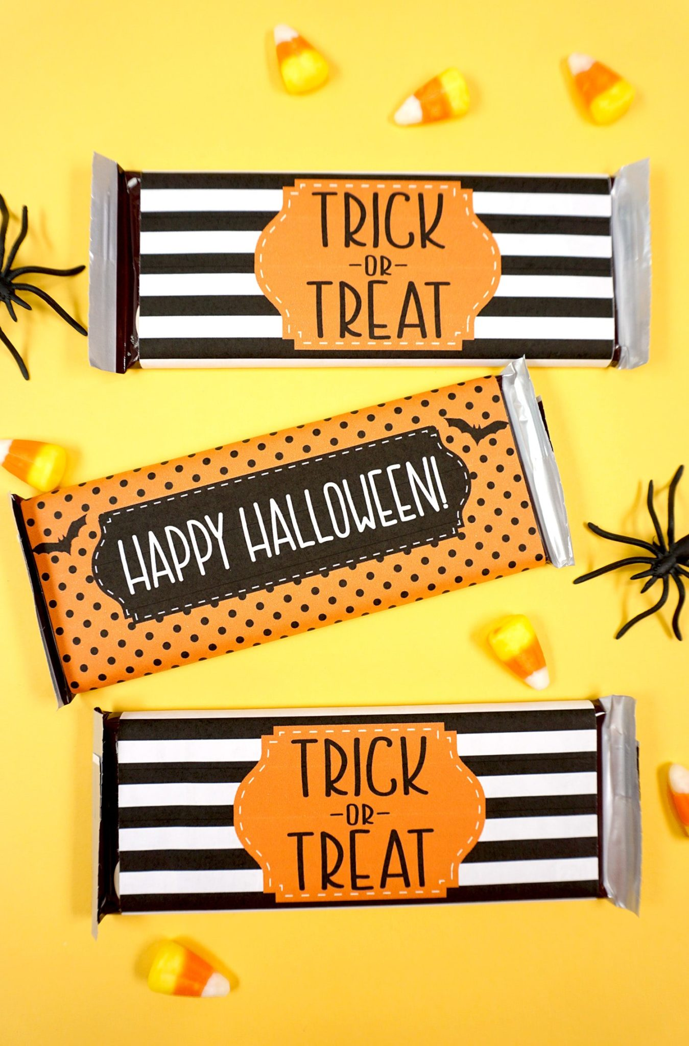 party crafts Free-Halloween-Candy-Bar-Wrapper-Printables