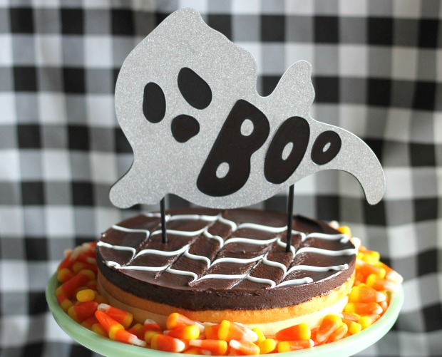 party crafts ghost cake topper