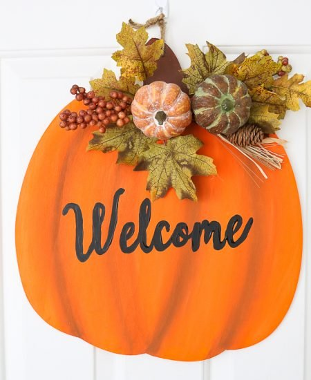 autumn door hanger
