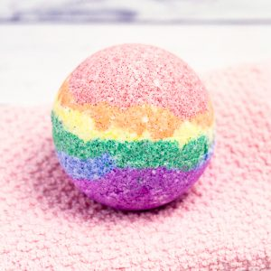 how to make rainbow bath bombs