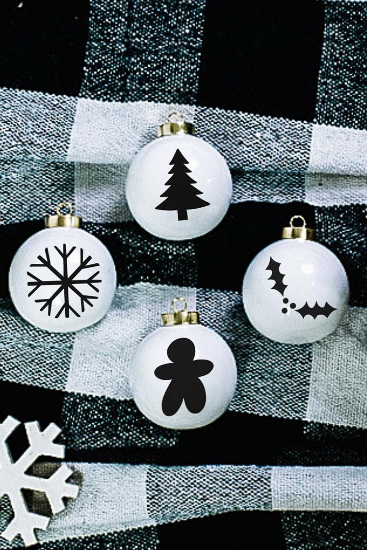 christmas shapes svg files