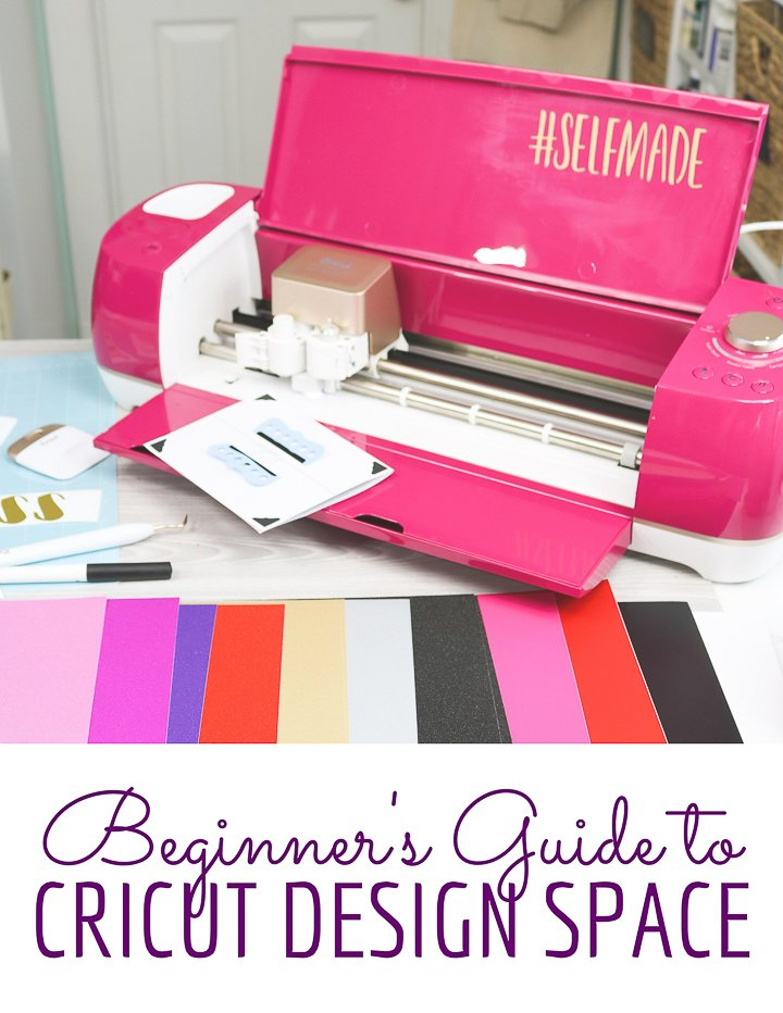 beginner's guide to cricut design space