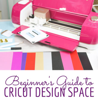 guide to cricut design space