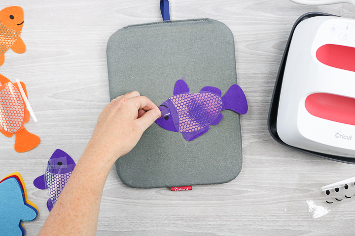 how to iron on mosaic heat transfer vinyl