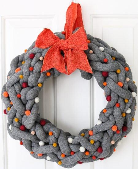 How to make a DIY fall wreath