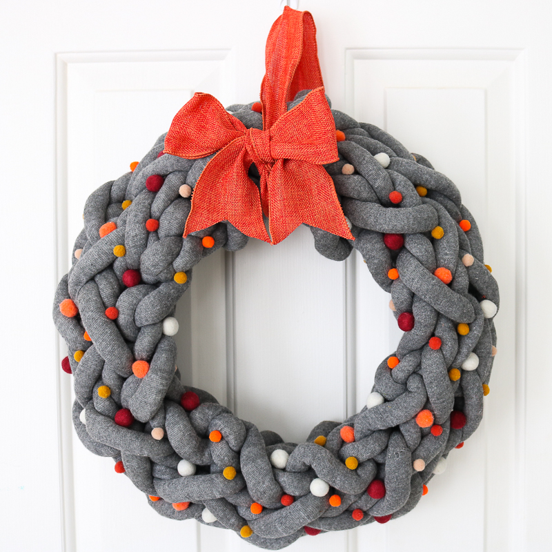 How to make a DIY fall wreath