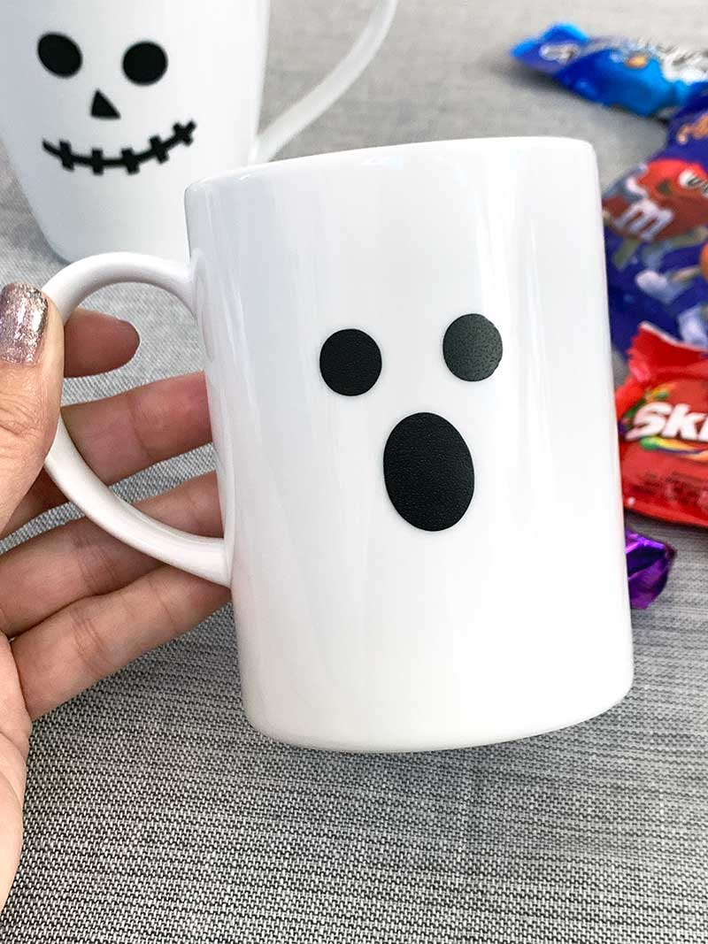 Quick Diy Mug For Halloween The Country Chic Cottage