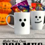 Make your own cute Halloween mugs in minutes
