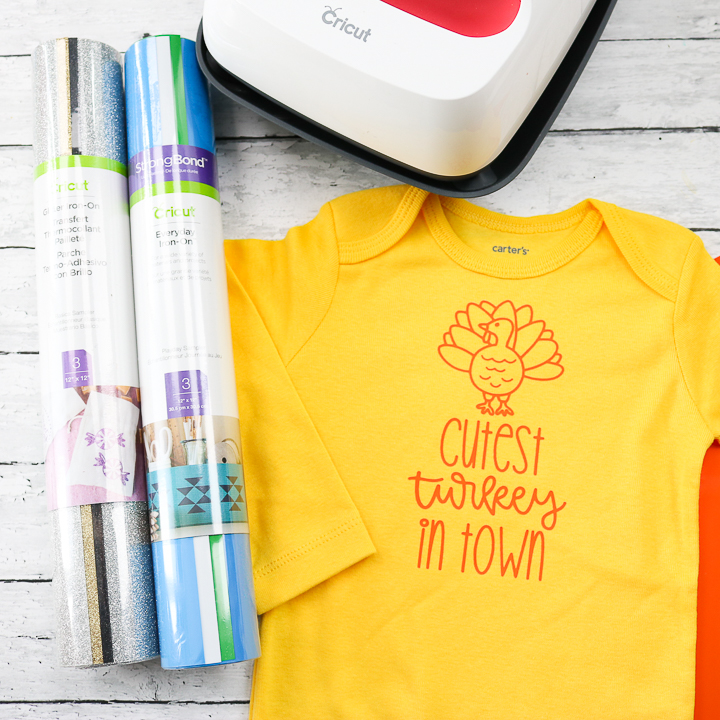 creating custom shirts with iron-on vinyl and cricut easypress