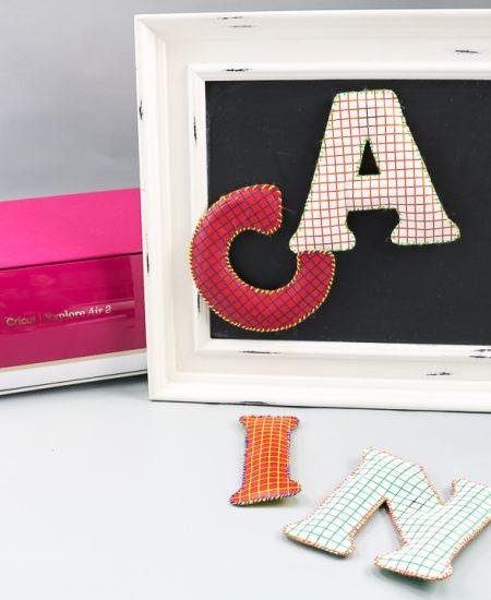kids letter magnets