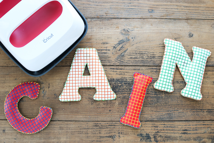 personalized letter magnets gift idea