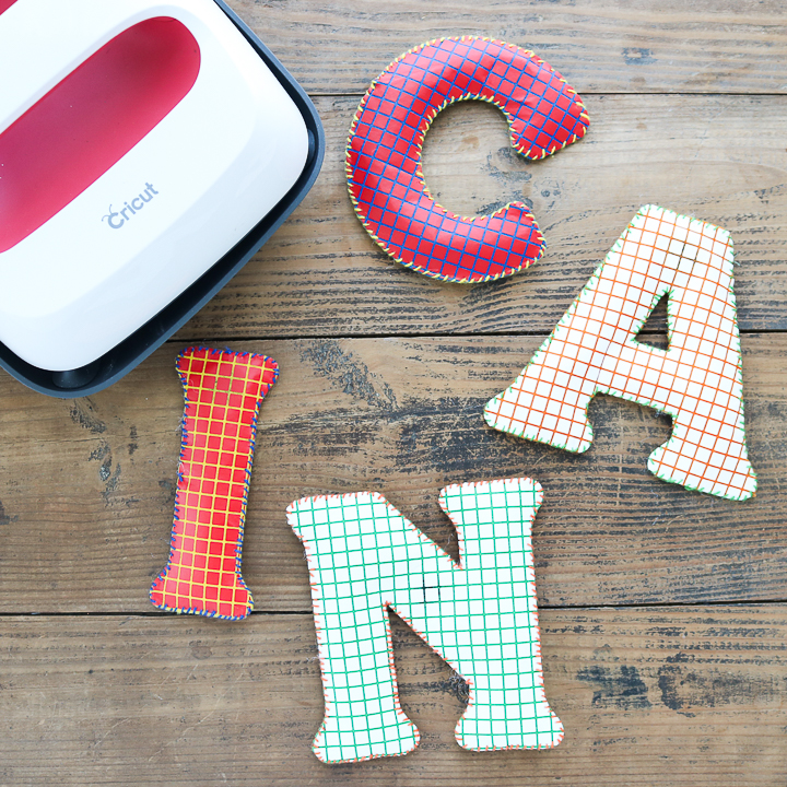 magnetic name letters