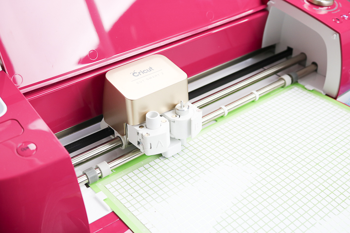 cricut explore cutting mosaic heat transfer vinyl
