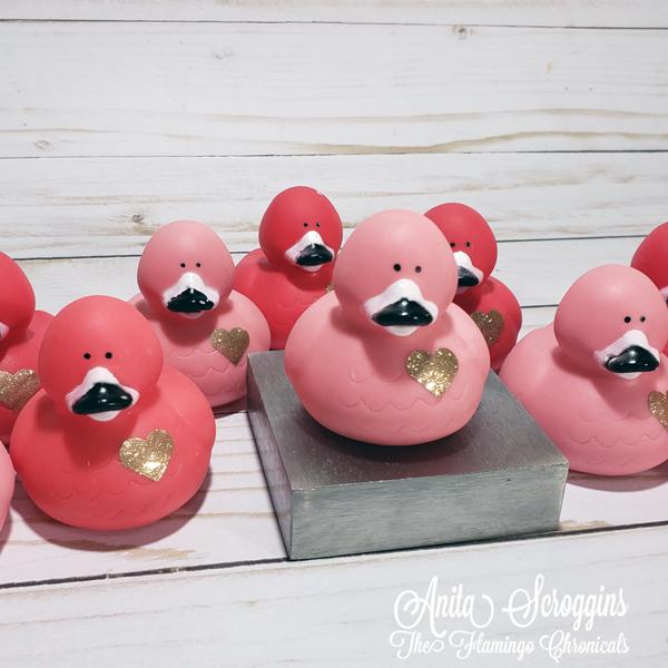 Flamingo Ducks