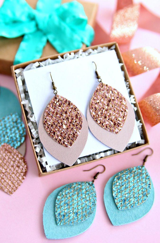 Glitter_Leather_Earrings