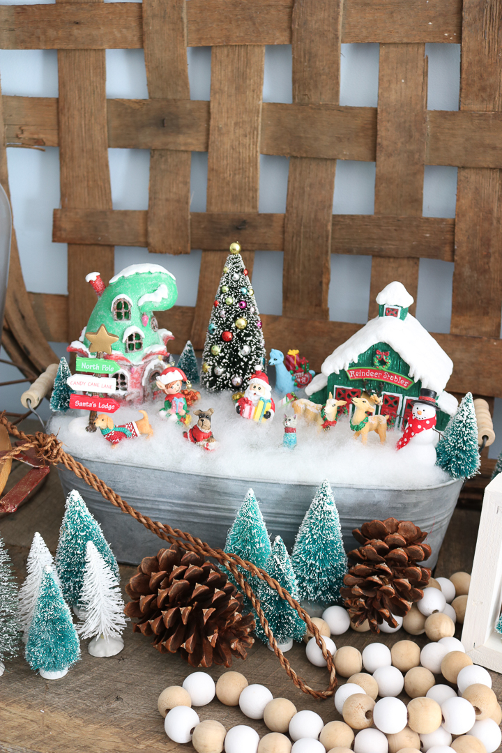 diy christmas fairy garden