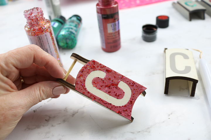 how to paint a monogram