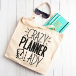 DIY Planner Bag with 14 Free Planner SVG Files