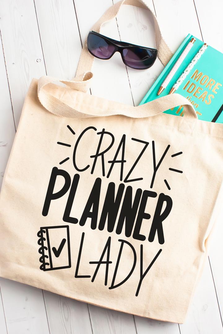 free planner svg file