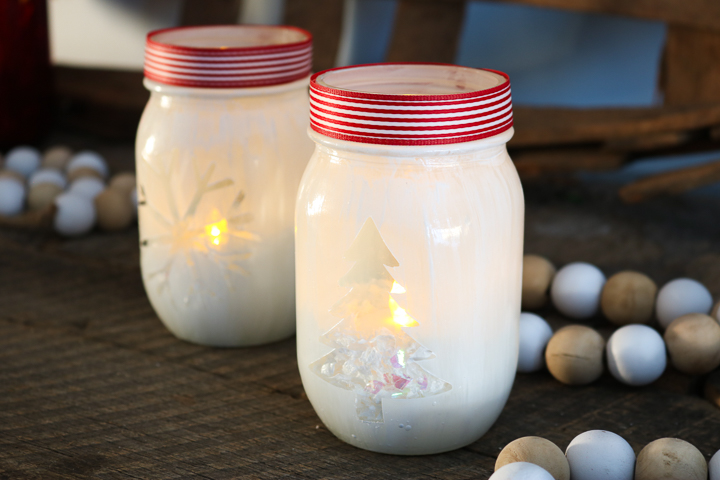 tea light candle holders for christmas
