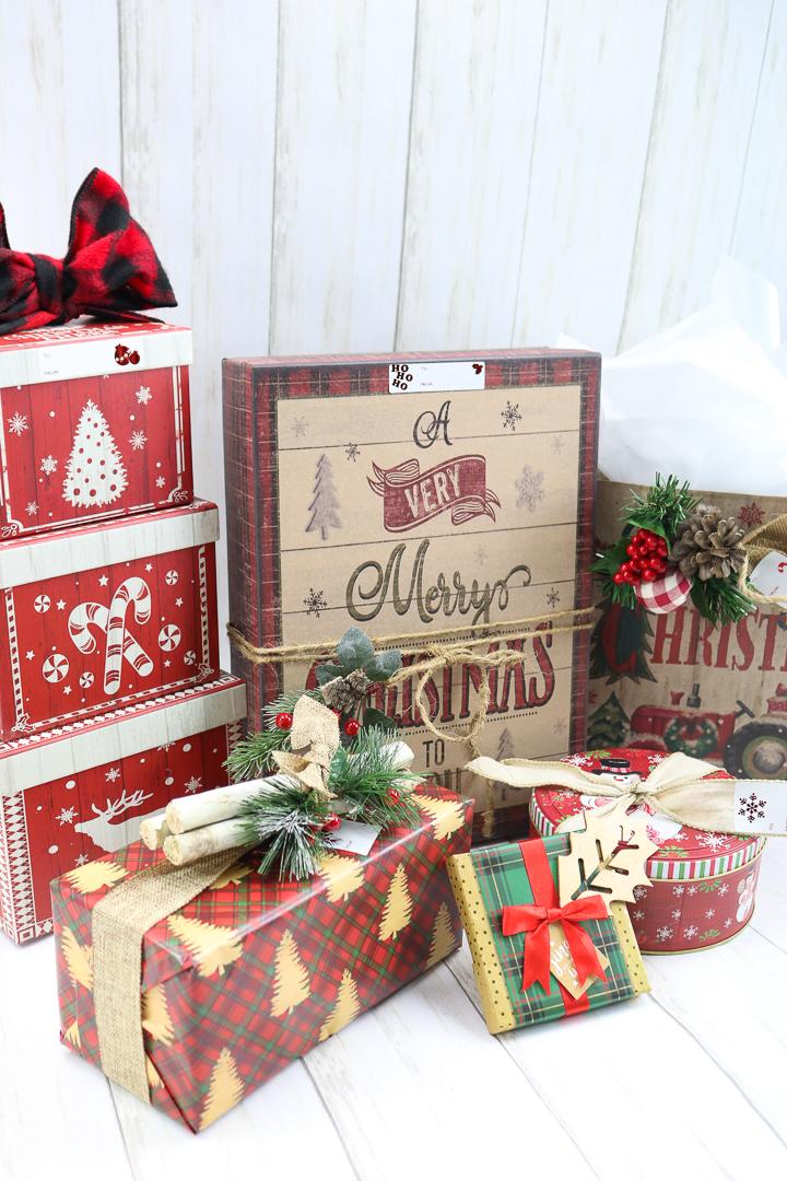 creative christmas gift wrap