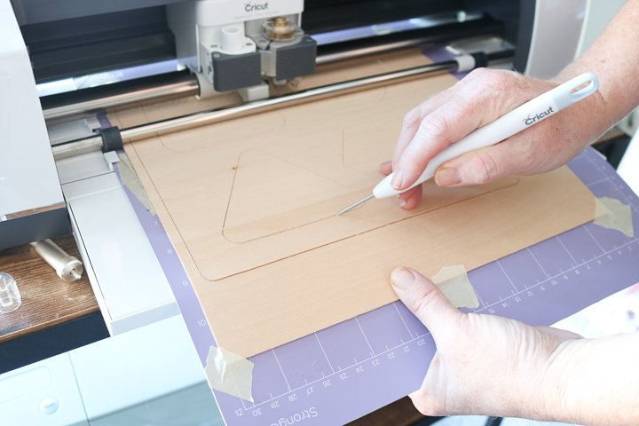 checking wood cuts cricut maker