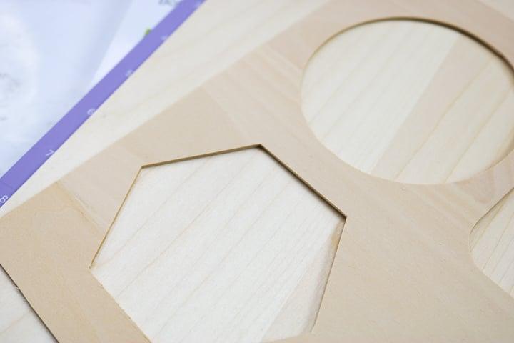 wood cut on cricut maker