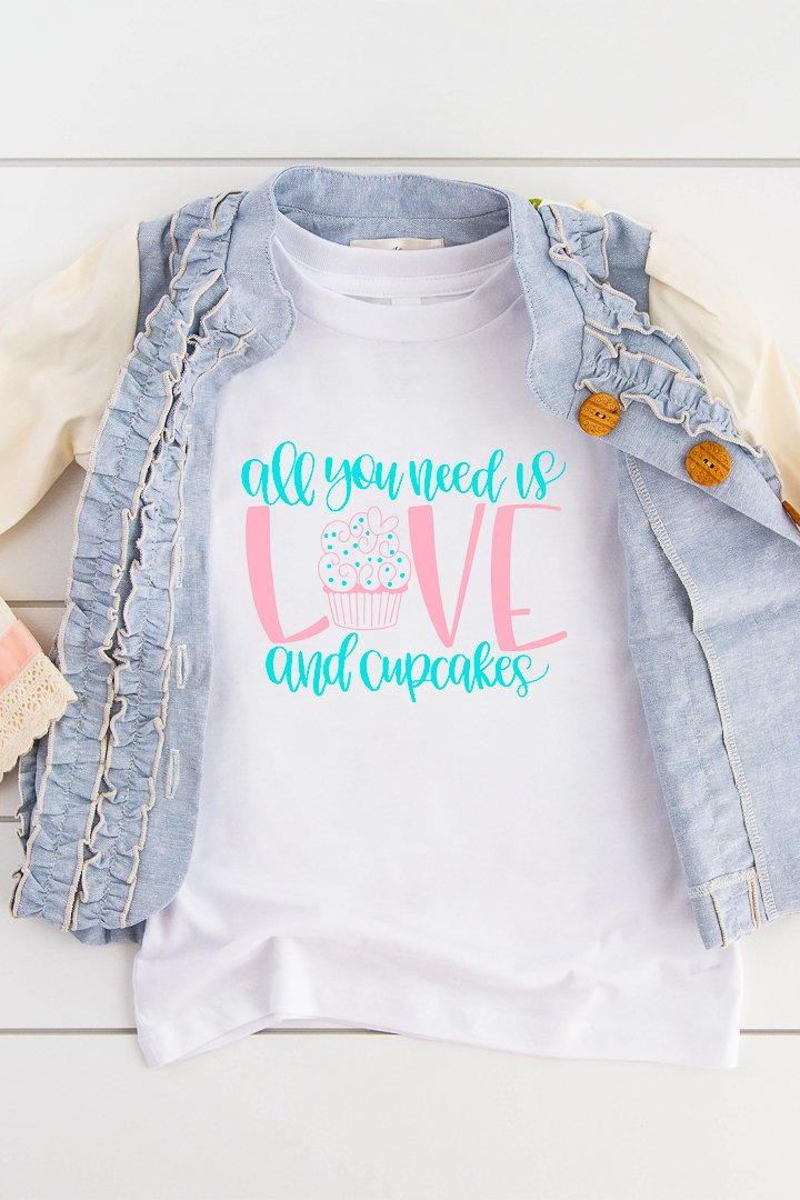 love and cupcakes svg