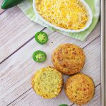 Gluten Free Biscuits with Cheddar and Jalapeno