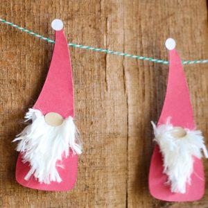 gnome svg to make paper gnomes