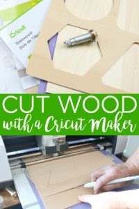Learn how to cut wood with a Cricut Maker and the knife blade. An easy tutorial including types of wood, how to put it on the mat, and more! #cricutmaker #cricut #cricutcreated #knifeblade #wood #woodcrafts #cuttingwood #cricutcrafts #cricutprojects #crafts #creativity #create #diy #diyprojects