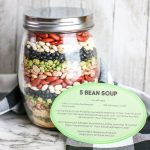 Easy Soup in a Jar Gift Idea