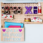 Craft Room Pegboard: How to Organize Your Space