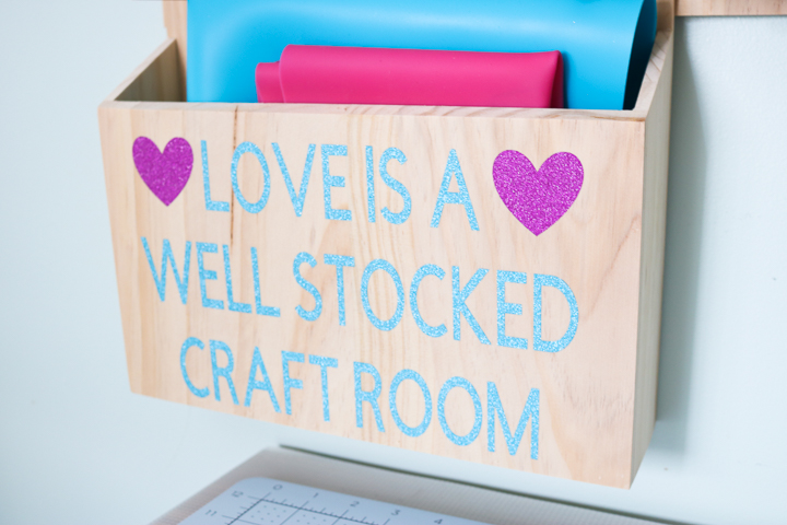 love is a well stocked craft room