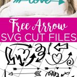 Need a free arrow SVG? Give these 25 free arrow SVGs a try! Cut arrow cut files for your Cricut machine! #cricut #cricutcreated #arrow #svg #svgs #svgfiles #cutfiles #freesvg #freesvgs #pillow #love #handmade