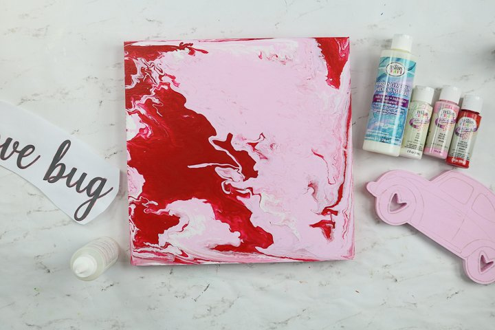 marbling acrylic paint